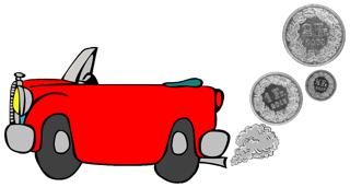 Taxes et voitures